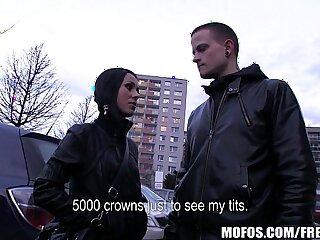 amateur babe blowjob brunette couple czech