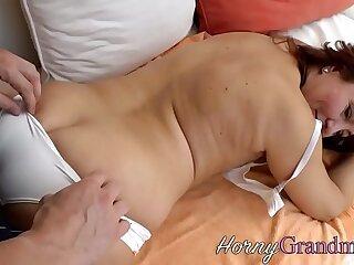 big blowjob cougar cumshot granny hardcore