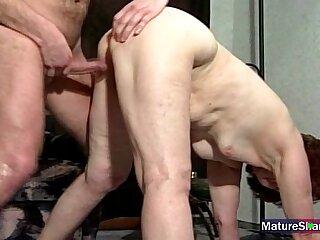granny mature milf old tits