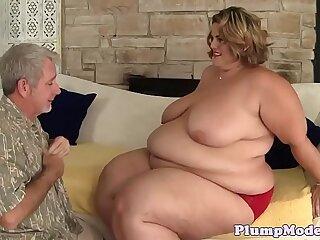 bbw big blowjob doggystyle sucking tits