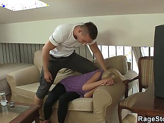 aggressive anal blowjob brutal cheating creampie