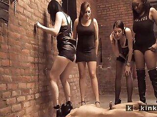 femdom gangbang mistress pissing slave