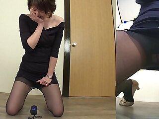 bizarre fetish high definition japanese old pantyhose