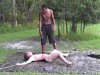 black bondage slave