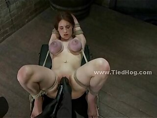 bdsm blowjob lesbian redhead slave
