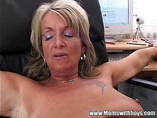 anal ass bbw blonde blowjob boss