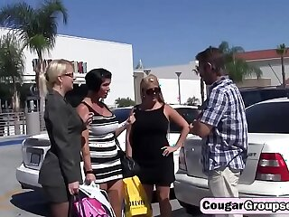 amazing ass blonde brunette cougar cougar moms