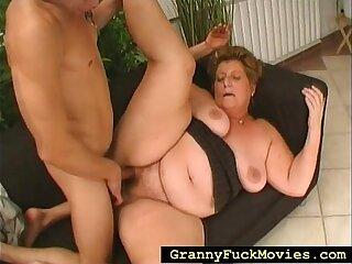 bbw chubby granny hubby mature