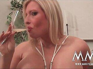 anal blonde bukkake cumshot double penetration facial