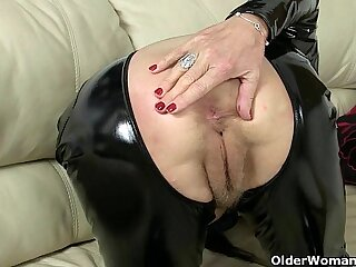 anal bbw british granny masturbating mature