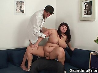 bbw chubby dick double penetration hubby mommy