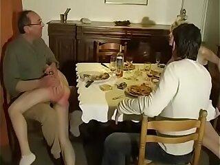 couple spanking