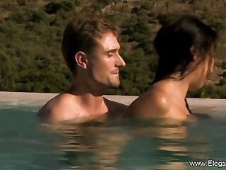 asian indian interracial massage oiled outdoor