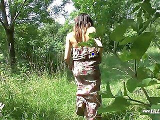 german hidden cams outdoor public teen