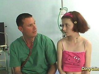 big busty teen doctor nurse redhead teen