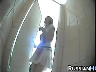 hidden cams pissing russian voyeur