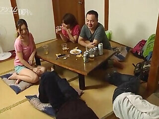 group sex japanese licking mature milf pussy
