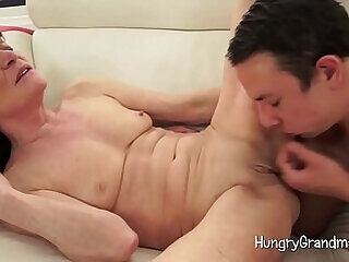 blowjob fingering granny mature pussy shaved