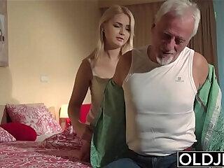 blowjob doggystyle fingering girls grandpa old