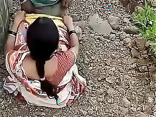 cheating hubby indian outdoor wife