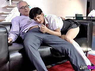 amateur blowjob bukkake lingerie old stockings