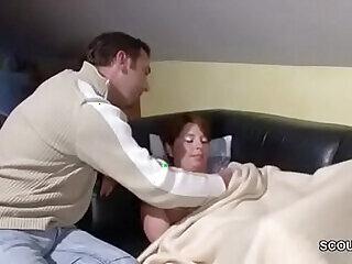 blowjob bukkake cumshot family fucking german