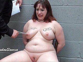 aggressive bbw bdsm facial fat bodies slave