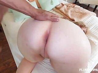 anal ass bbw big blonde interracial