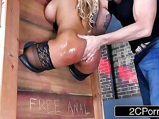 anal ass bdsm big blonde blowjob